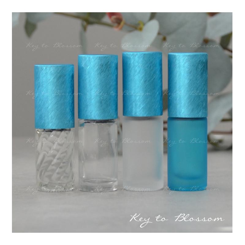 Rainbow Roller Bottle (5ml) - Light Blue/Teal