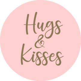 Hugs & Kisses   10 stuks  