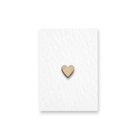 Mini kaartje | Hartje |