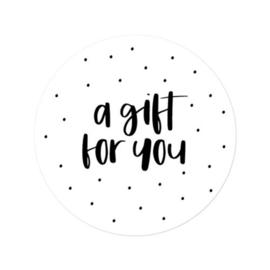 Sticker | a gift for you | 5 stuks