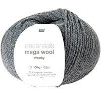 Mega Wool Chunky 014 grijs