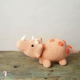 Hardicraft haakpakket Dino Triceratops