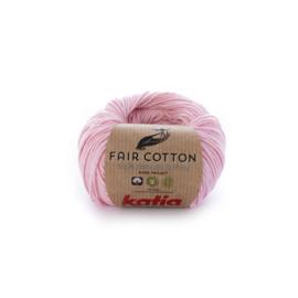 Katia Fair Cotton 9 baby roze