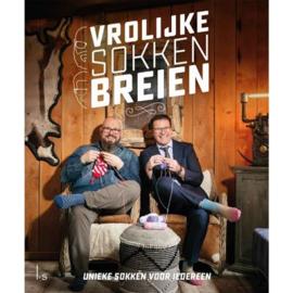 Vrolijke sokken breien  - Dendennis en Wim Vandereyken