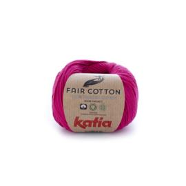 Katia Fair Cotton 32 framboos