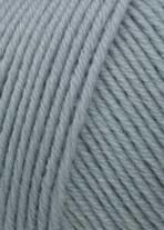 Merino 150  123 zilvergrijs