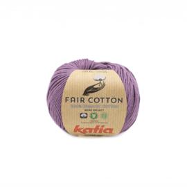 Katia Fair Cotton 39 donker paars
