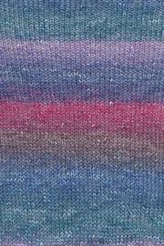 Linello 010 blauw/ roze