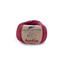 Katia Fair Cotton 27 wijnrood