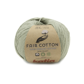 Katia Fair Cotton 46 bleekgroen