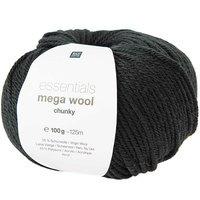 Mega Wool Chunky 016 zwart