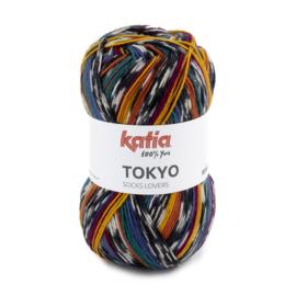 Tokyo socks 84 oker/ petrol