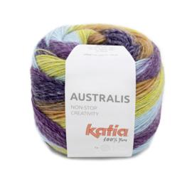 Katia Australis 204 lila/ blauw/ pistache