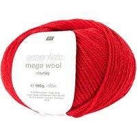 Mega Wool Chunky 009 rood
