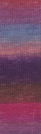 Merino 120 004 degradé rood/ violet