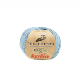 Katia Fair Cotton 41 grijsblauw