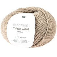 Mega Wool Chunky 002 naturel