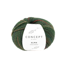 Alma 307 groen bruin rood