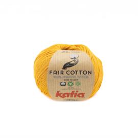 Katia Fair Cotton 37 mosterdgeel