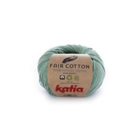 Katia Fair Cotton 17 mintgroen