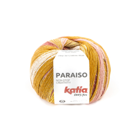 Katia Paraiso 106 oranje/ rood/ roze