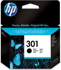 Cartridge HP 301 zwart