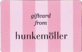 Giftcard Hunkemöller