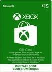 Xbox giftcard € 15