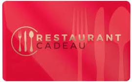 Giftcard Restaurant Cadeau