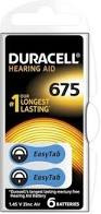 Batterij Duracell gehoorapparaat 675