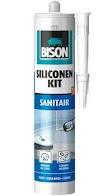 Bison siliconenkit wit