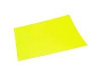 Fotokarton fluor geel