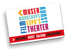 Giftcard Nationale Kunst & Cultuur cadeau