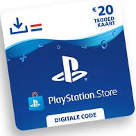 Playstation giftcard € 20