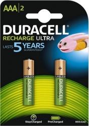 Batterij Duracell oplaadbaar AAA