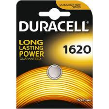 Batterij Duracell 1620
