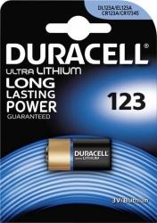 Batterij Duracell CR123