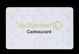 Giftcard Bijenkorf