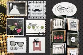 Kaarten Glitter & Glamour