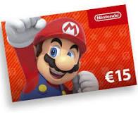 Nintendo giftcard € 15