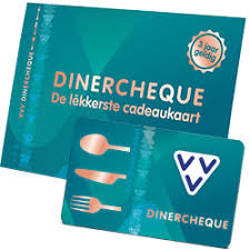 Giftcard VVV Dinercheque