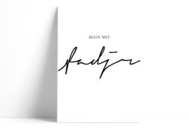 Begin met Fadjr