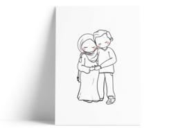 koppel in verwachting (moslim)