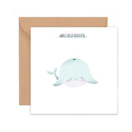 Whale hello beautiful