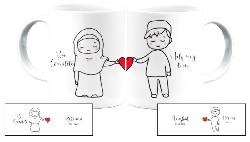 You complete half my deen