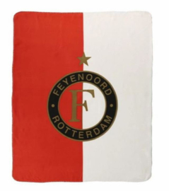 Feyenoord plaid / fleecedeken