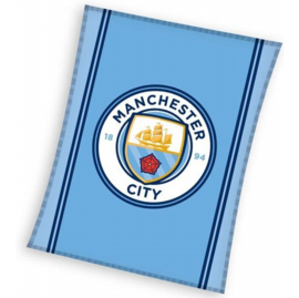 Manchester City plaid / fleecedeken