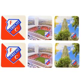FC Utrecht onderzetters