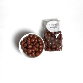Chocolade  Pinda's. 2 zakjes.