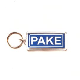 Sleutelhanger Pake.